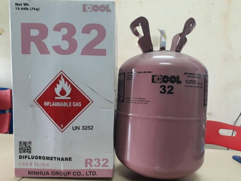Đặc tính của gas lạnh R32 - Gas lạnh R32 là gì ?