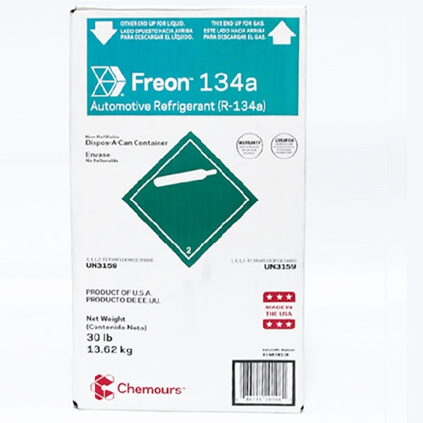 Gas Lạnh R134A Chemours Freon USA 13,6 KG
