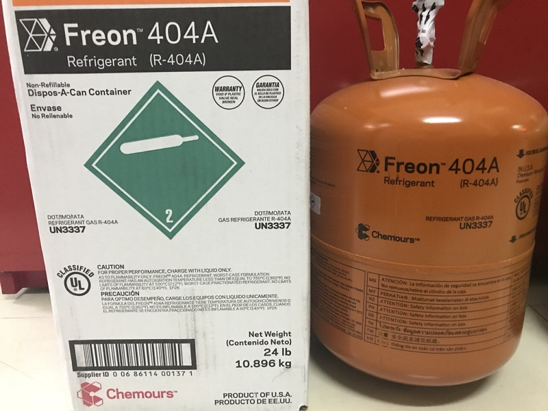 Gas Lạnh R404A Chemours Freon USA 10,89 KG